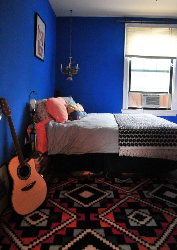 colores para pintar dormitorios gamas oscuras