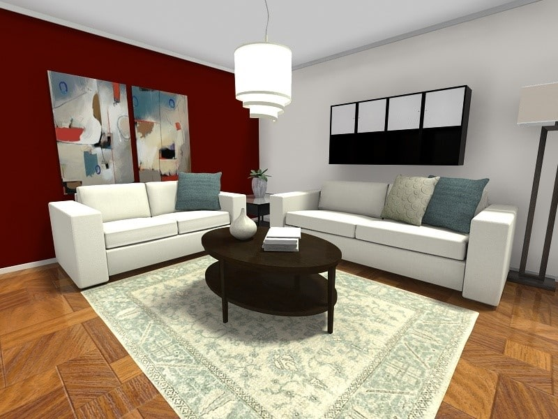 colores para salas de casa amplitud