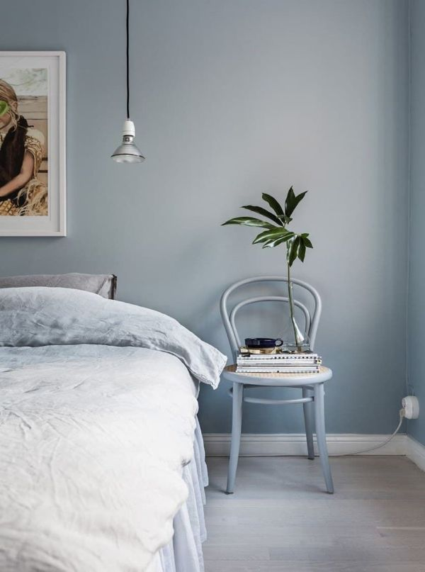 colores relajantes para dormitorios gris