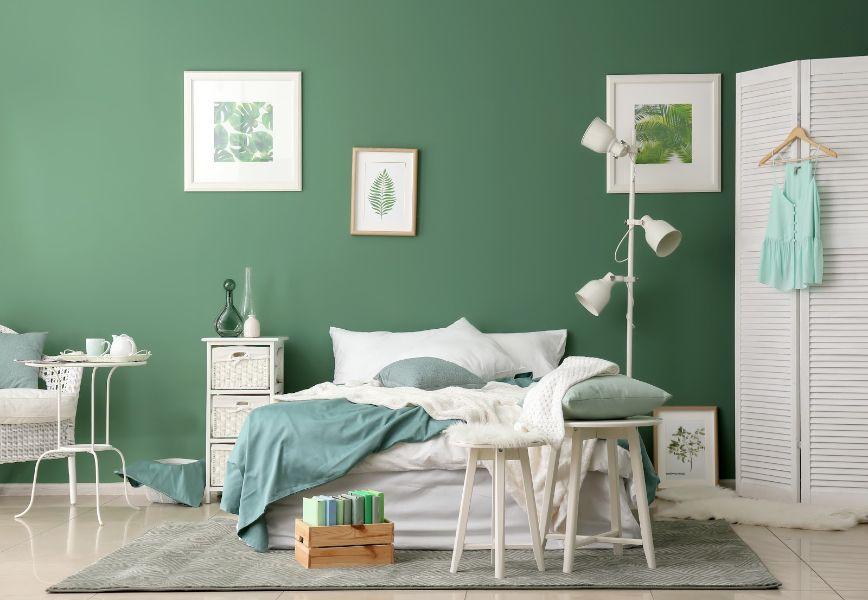 colores relajantes para dormitorios naturaleza