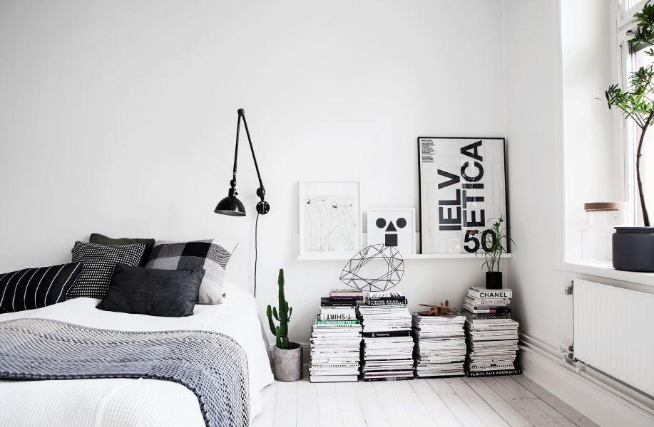 cuartos minimalistas pequeños organización