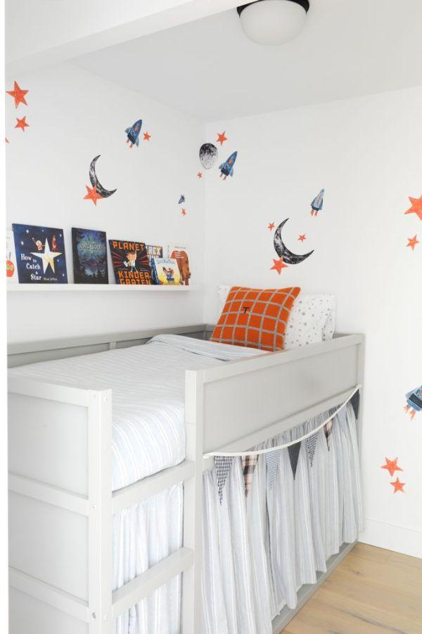 cuartos minimalistas pequeños para niños