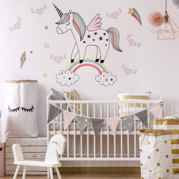 cuartos para niña bebe dibujos divertidos