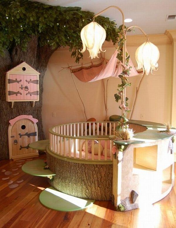 cuartos para niña bebe escenografias