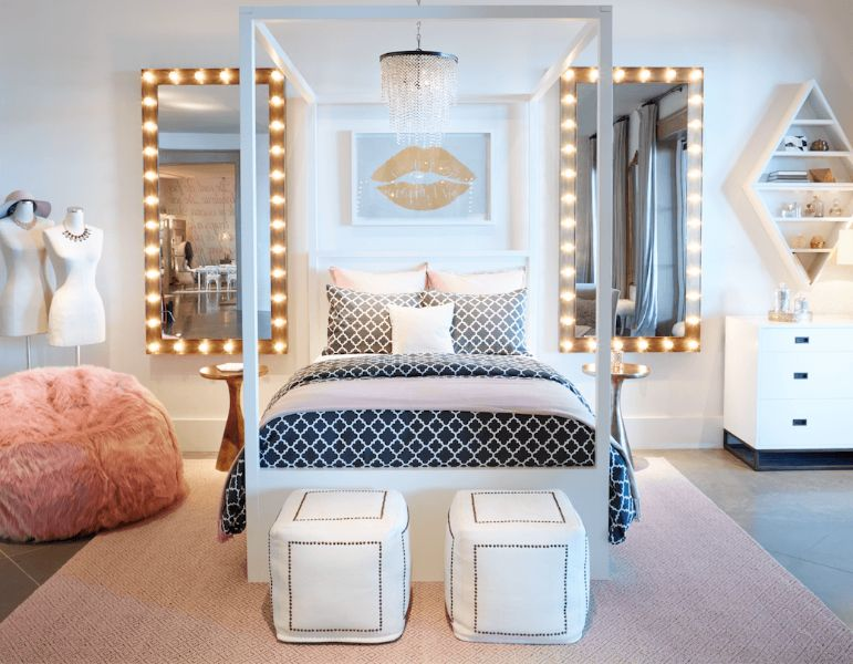 cuartos para niñas adolescentes ideas en muebles