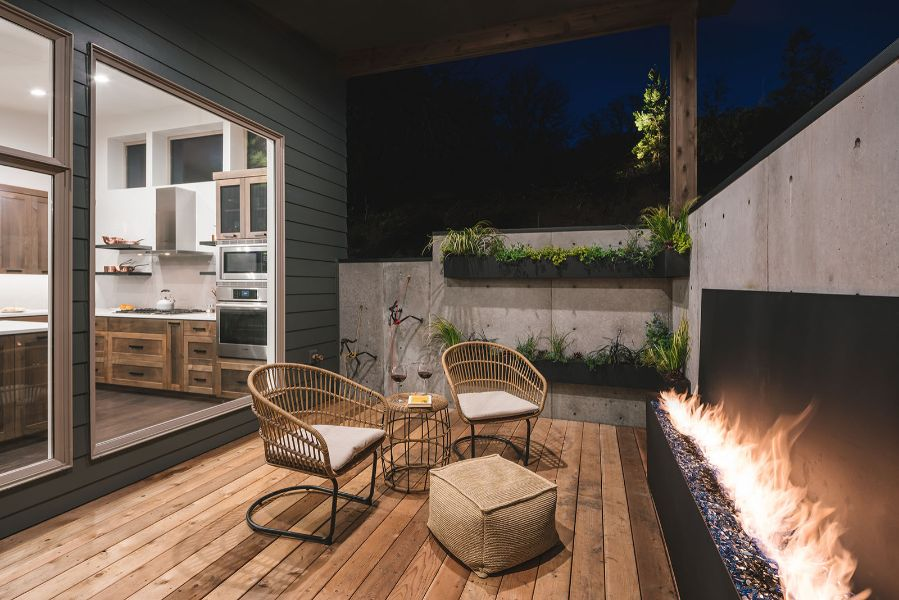 decoracion de patios pequeños ideas minimalistas