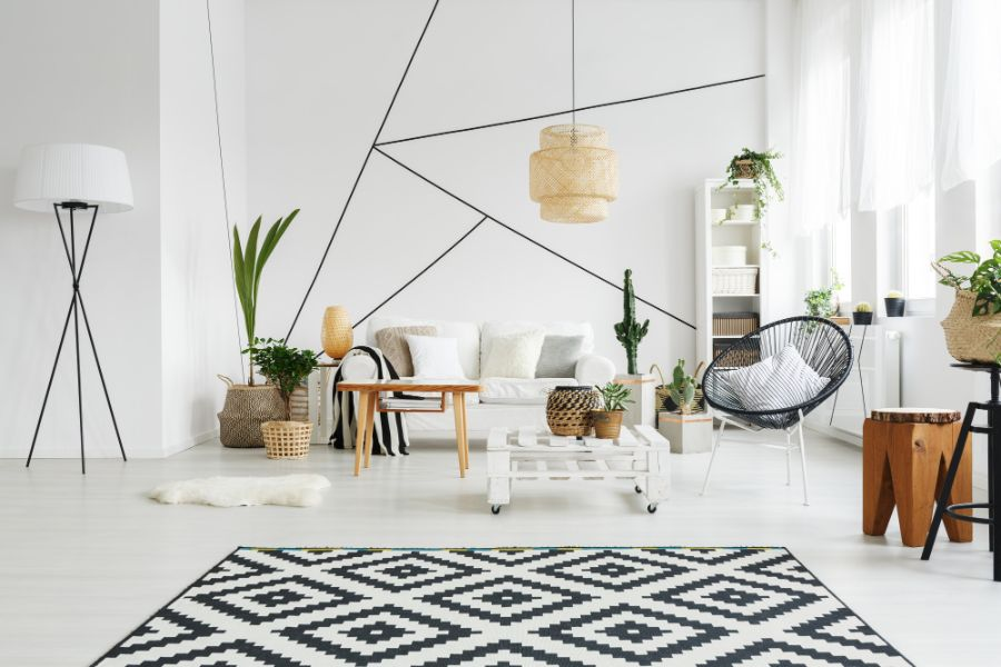 decoracion escandinava 2020 minimalistas