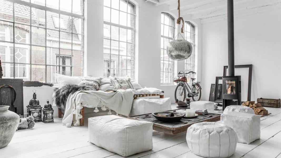 decoracion escandinava 2020 para loft
