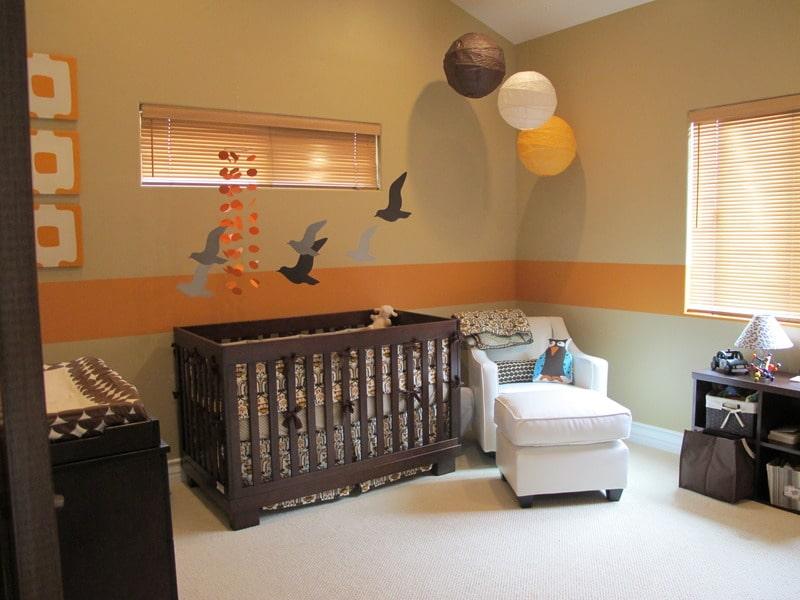 decoraciones de cuartos de bebes colores