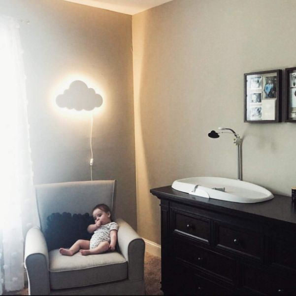 decoraciones de cuartos de bebes ideas luminosas