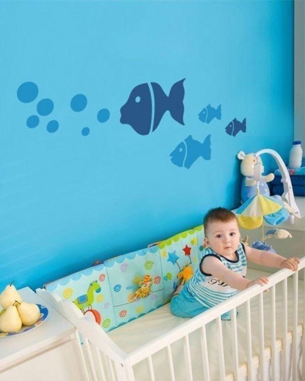 decoraciones de cuartos de bebes murales