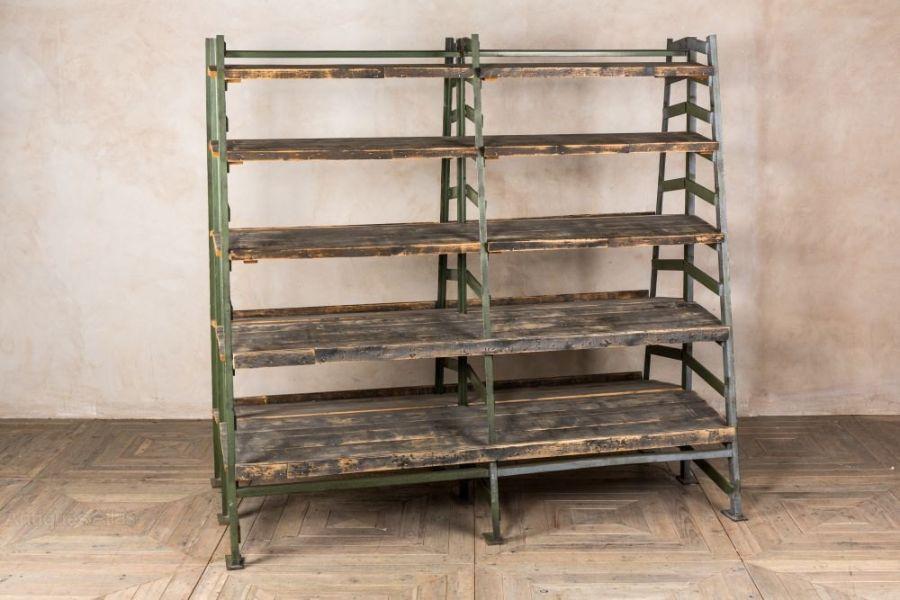 estantes de madera para cocina sin puertas