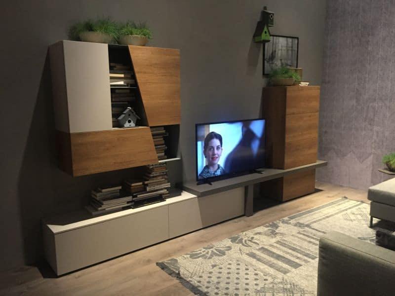 muebles modernos de televisión amplios