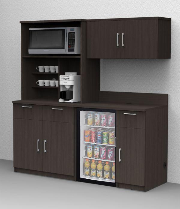 muebles para cocina en melamina para oficina