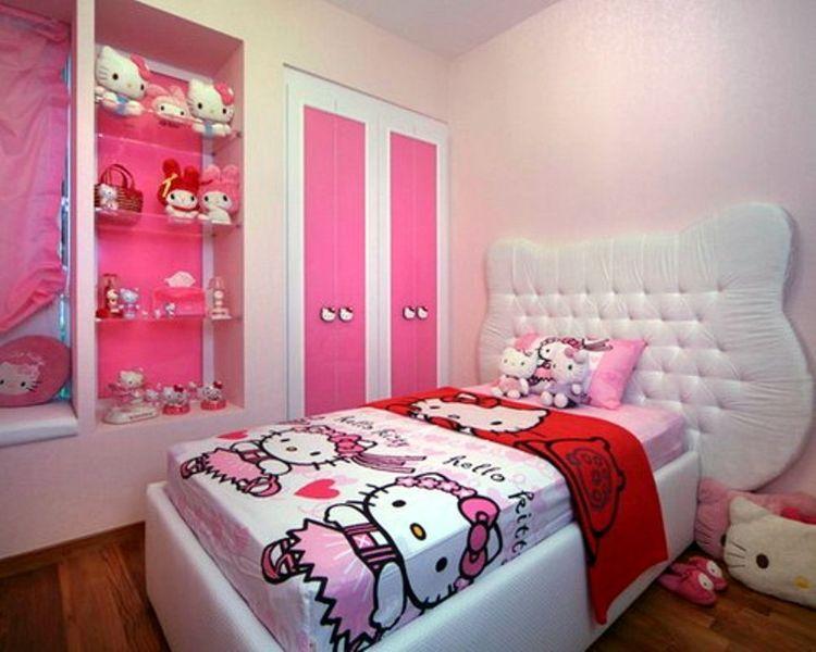 como decorar cuartos para niñas con personajes