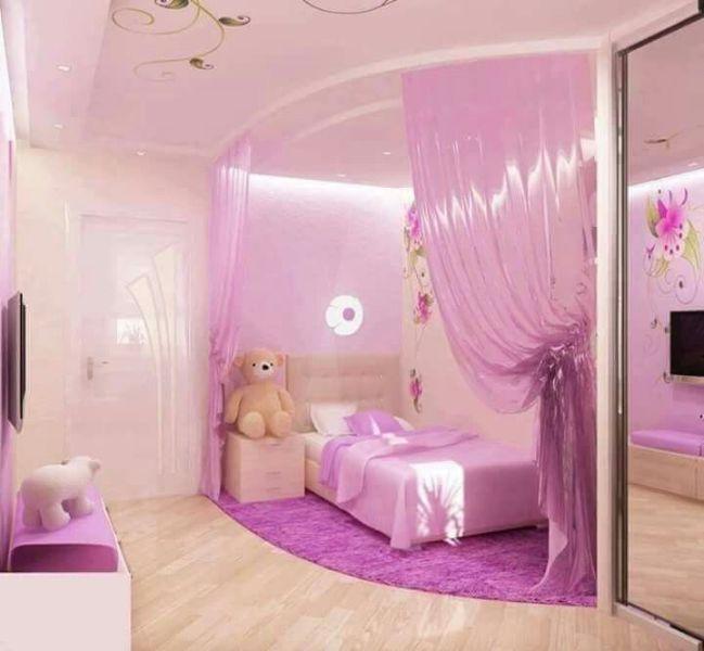 como decorar cuartos para niñas rosadas