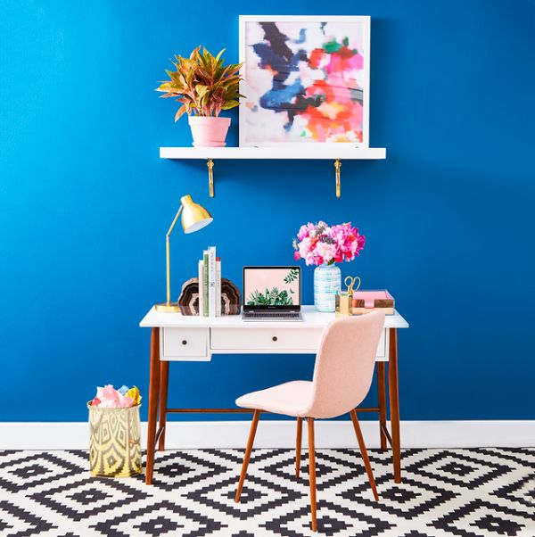 como decorar mi oficina en casa con muebles modernos