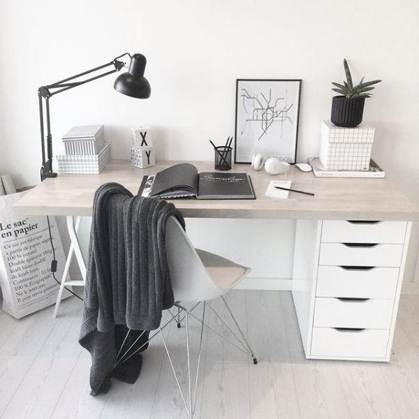 como decorar mi oficina en casa sencilla y pequeña