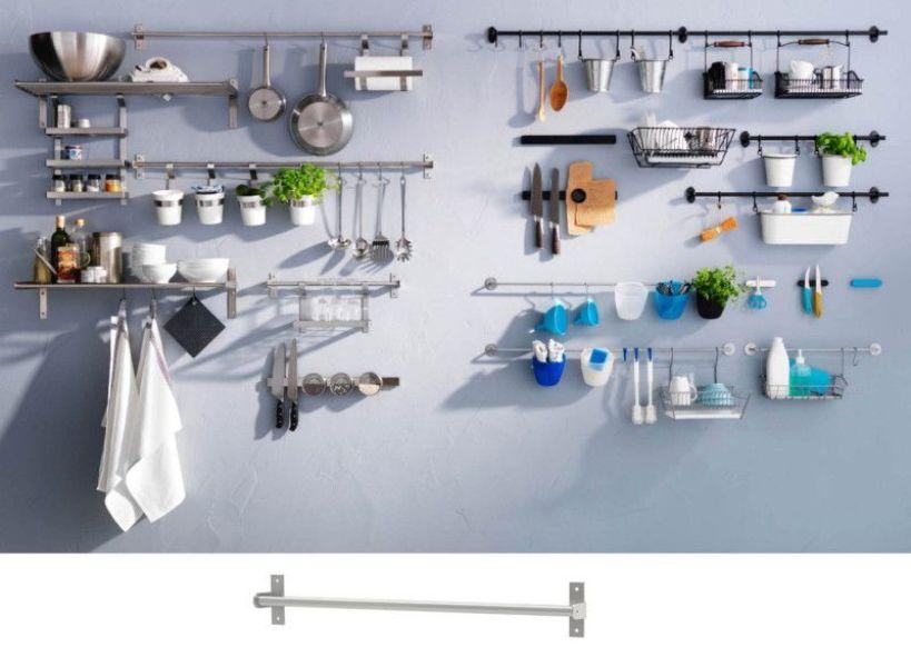 como organizar mi cocina pequeña con tubos