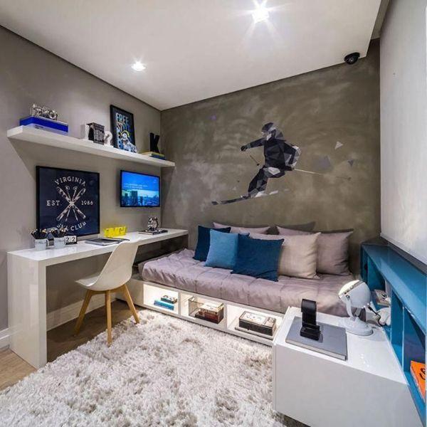 cuartos decorados para adolescentes con murales