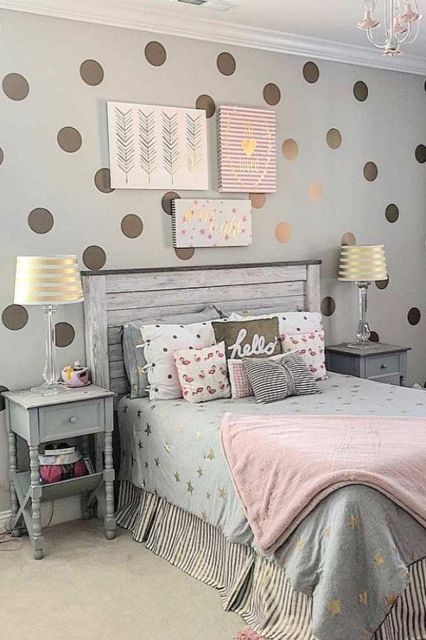 cuartos modernos para adolescentes estilo vintage