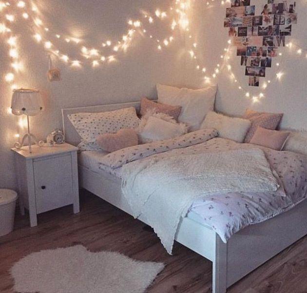 cuartos modernos para adolescentes ideas con luces