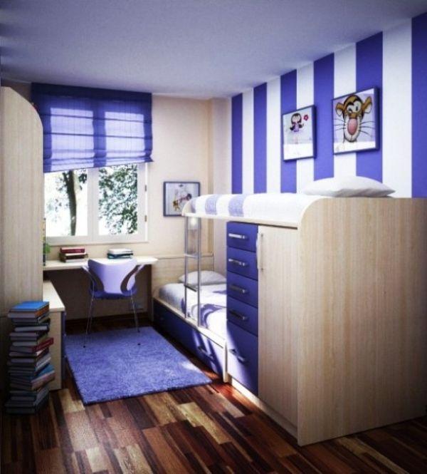 cuartos pequeños para adolescentes fucionales