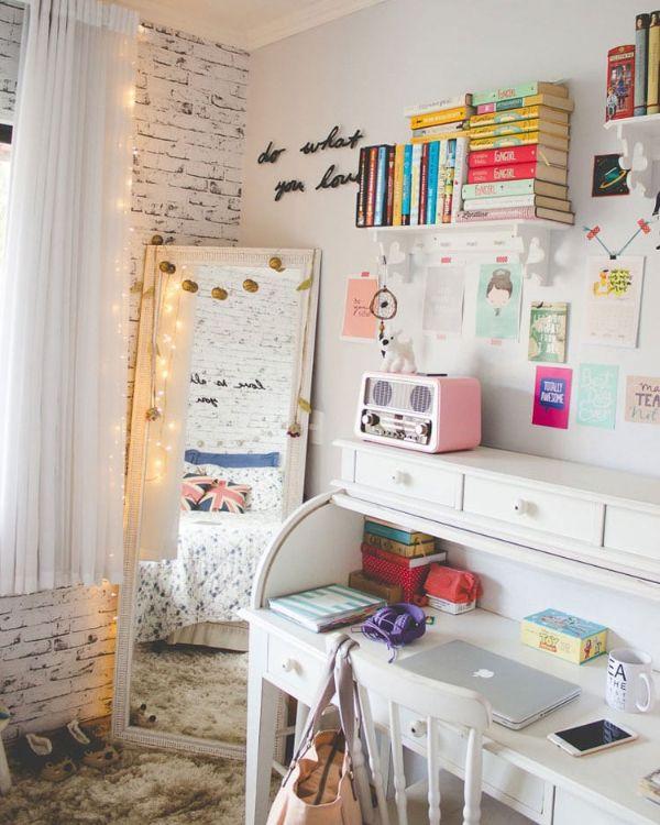 cuartos pequeños para adolescentes ideas vintage