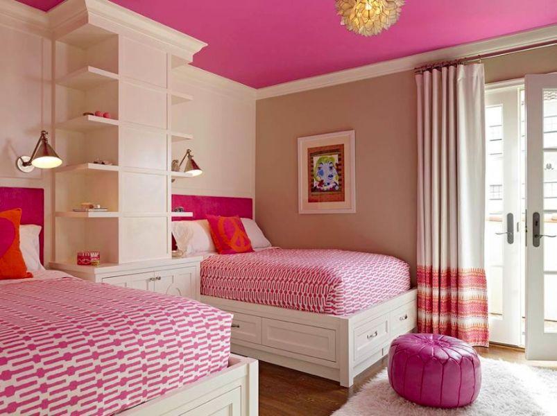 habitaciones de niñas adolescentes compartidas