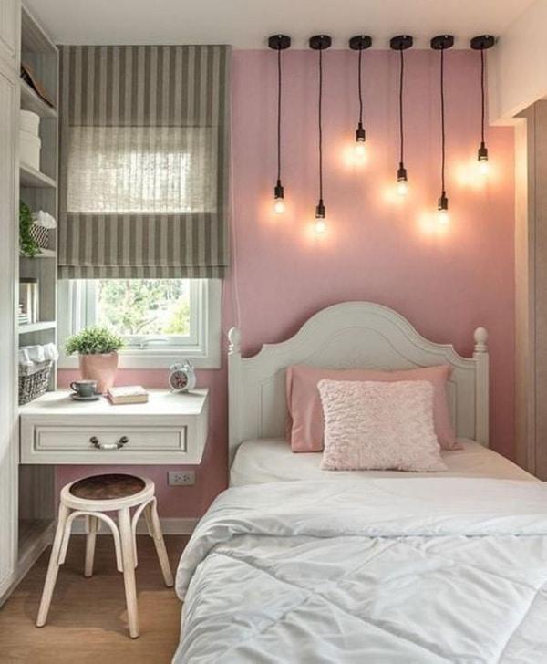 habitaciones de niñas adolescentes espacios pequeños
