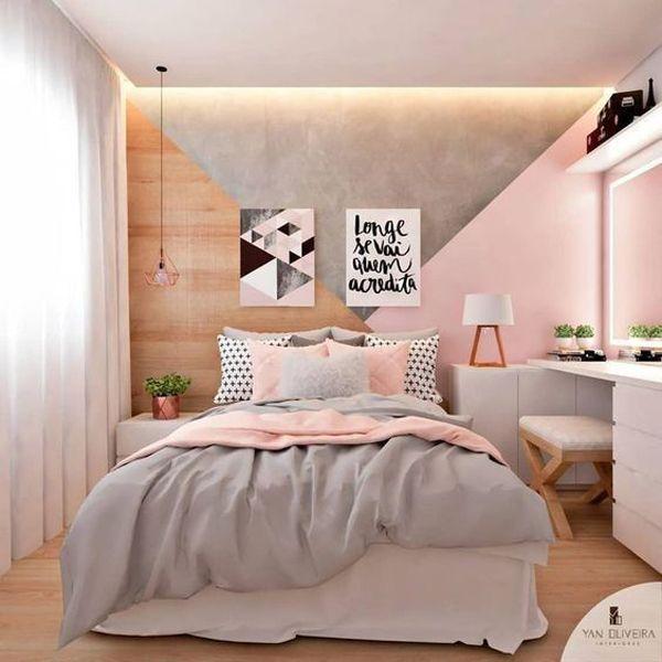 habitaciones de niñas adolescentes muros originales