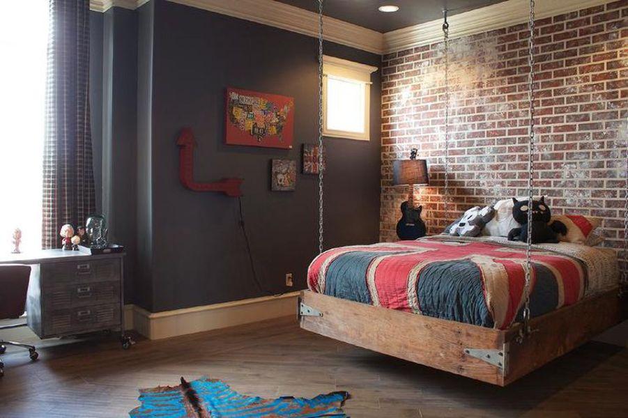 habitaciones modernas para adolescentes texturas e ideas