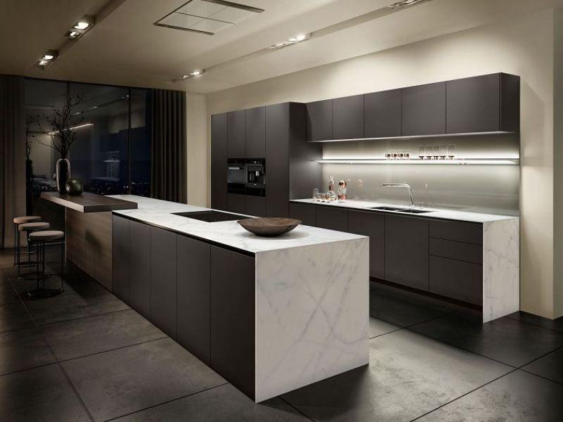 cocinas decoradas modernas iluminación