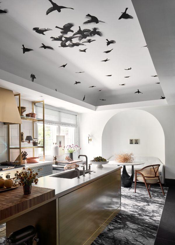 cocinas decoradas modernas techos