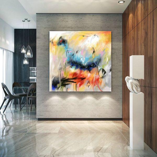 cuadros para oficinas modernas abstractos