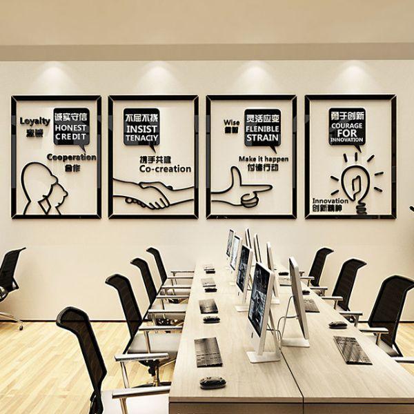 cuadros para oficinas modernas creativos