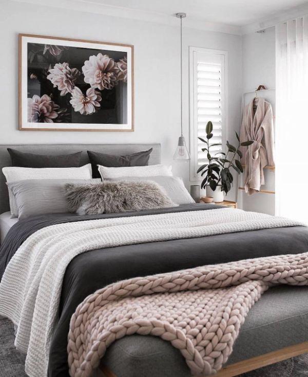decoración de dormitorios modernos combinacion de colores