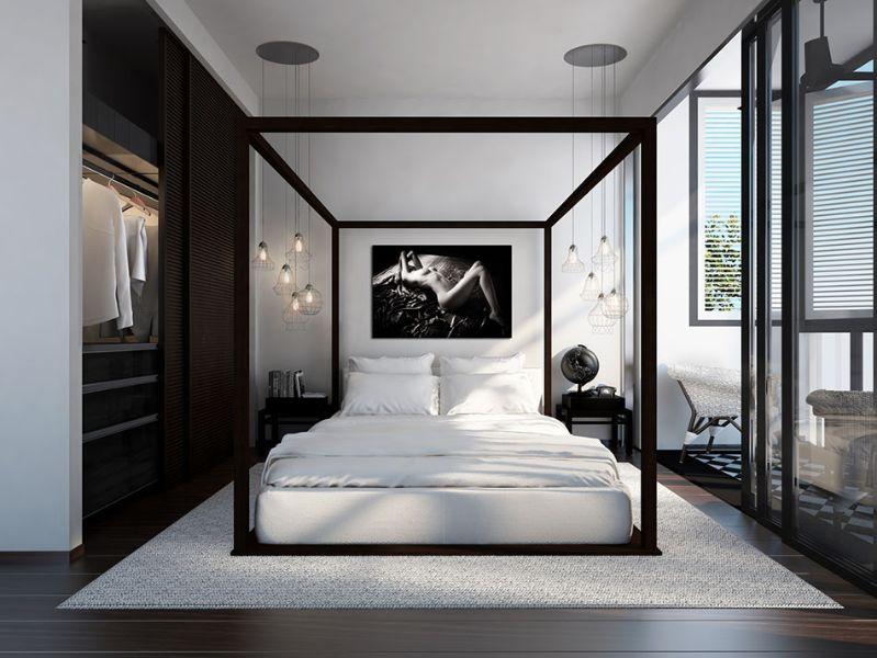 decoración de dormitorios modernos estructuras