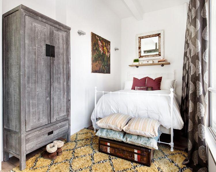 decoración de dormitorios modernos vintage