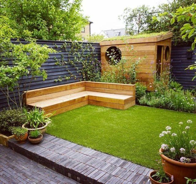 ideas para jardines en casa confort
