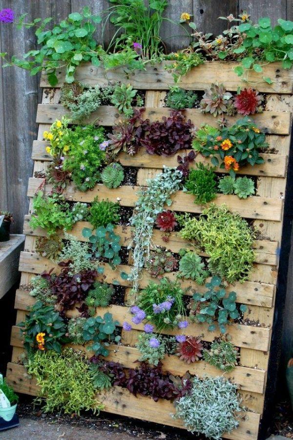 ideas para jardines grandes macetones