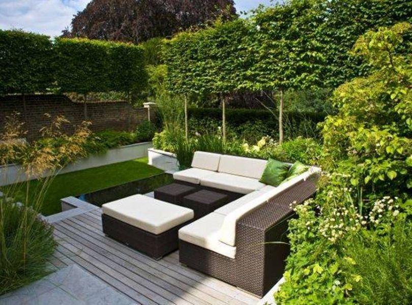 ideas para jardines grandes salas