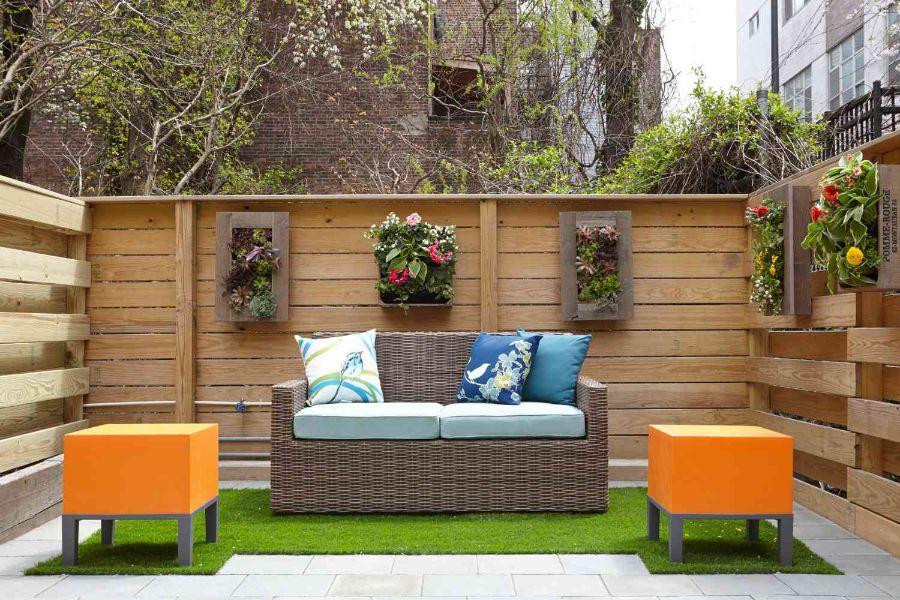 jardines en patios pequeños creaciones