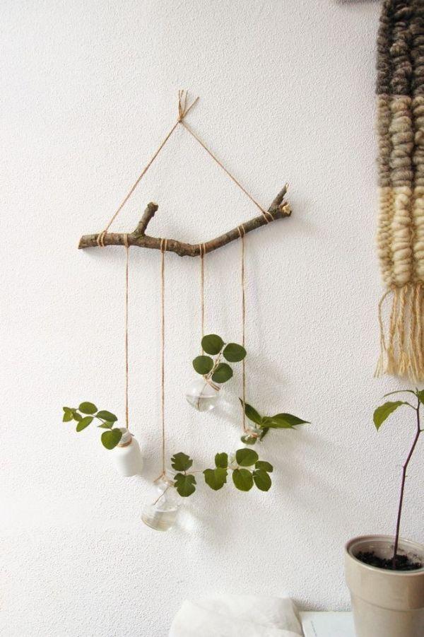 decoracion con plantas de interior arreglos rusticos