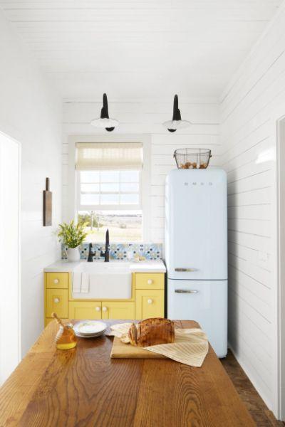 decoracion de cabañas pequeñas en cocinas