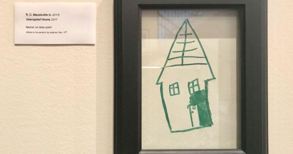 dibujos para hacer en la pared hecho por niños