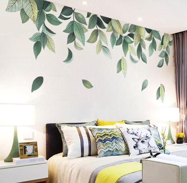 dibujos para pintar en paredes hojas
