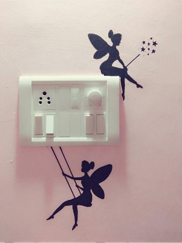 dibujos para pintar en paredes para apagadores
