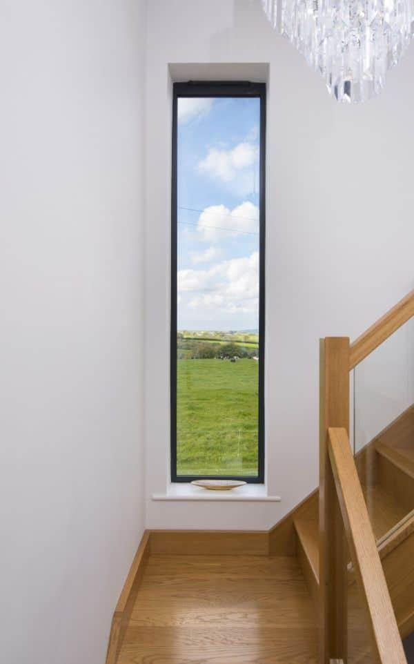 diferentes tipos de ventanas para escaleras