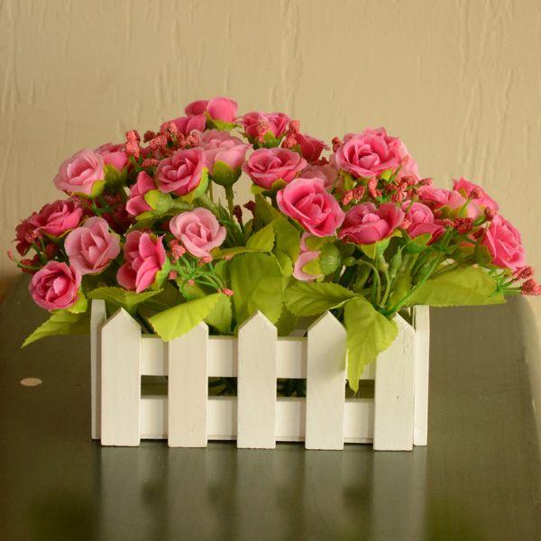 flores artificiales para decorar con curiosos arreglos